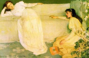 James Abbottb McNeill Whistler : Symphony in White