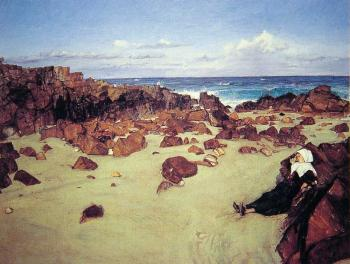 James Abbottb McNeill Whistler : The Coast of Brittany