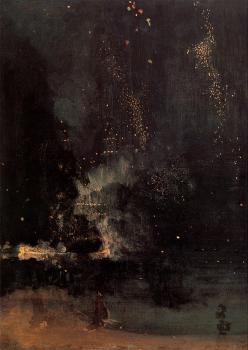 James Abbottb McNeill Whistler : The Falling Rocket