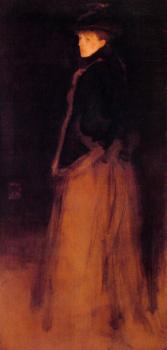 James Abbottb McNeill Whistler : The Fur Jacket