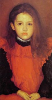 James Abbottb McNeill Whistler : The Little Rose of Lyme Regis