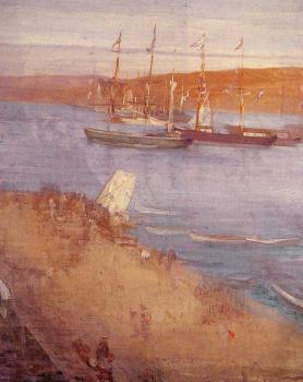James Abbottb McNeill Whistler : The Morning after the Revolution-Valparaiso