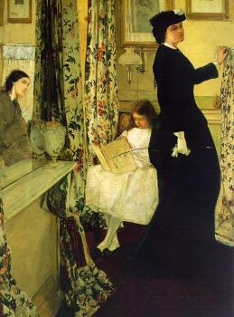 James Abbottb McNeill Whistler : The Music Room