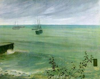 James Abbottb McNeill Whistler : The Ocean