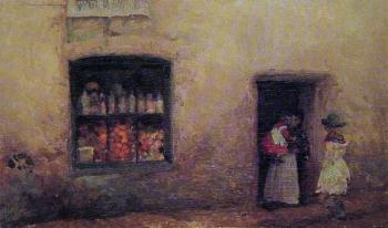 James Abbottb McNeill Whistler : The Sweet-Shop