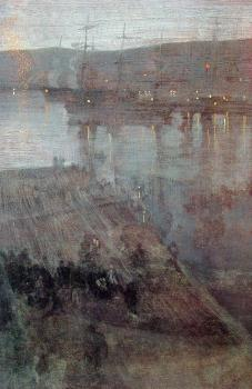 James Abbottb McNeill Whistler : Valparaiso Bay