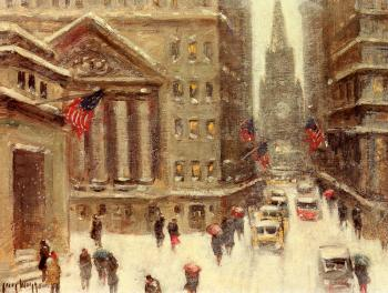 Guy Carleton Wiggins : Winter, New York