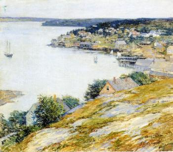 Willard Leroy Metcalf : East Boothbay Harbor