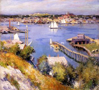 Willard Leroy Metcalf : Gloucester Harbor