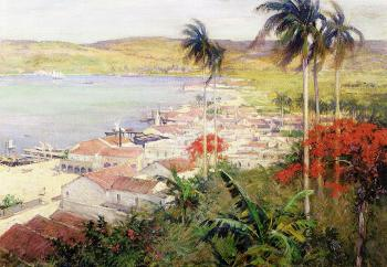 Willard Leroy Metcalf : Havana Harbor