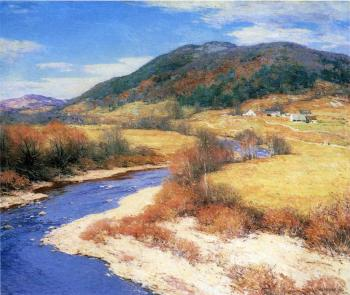 Willard Leroy Metcalf : Indian Summer Vermont
