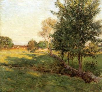 Willard Leroy Metcalf : Lengthening Shadows