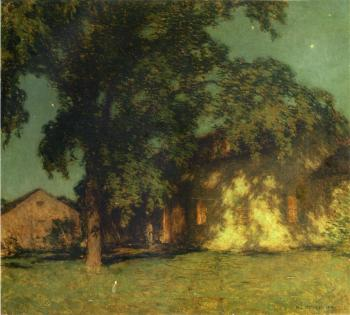 Willard Leroy Metcalf : Summer Night