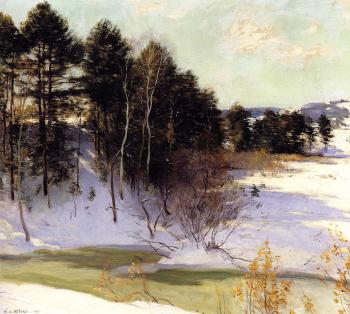 Willard Leroy Metcalf : Thawing Brook