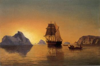 William Bradford : An Arctic Scene