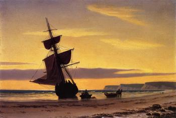 William Bradford : Coastal Scene