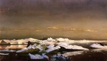 William Bradford : Floe Ice