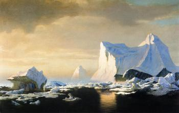 Icebergs in the Arctic William Bradford