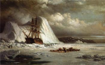 William Bradford : Icebound Ship