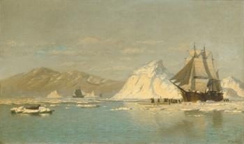 William Bradford : Off Greenland