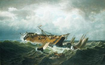 William Bradford : Shipwreck Off Nantucket