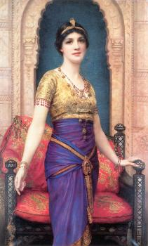 William Clarke Wontner : An Egyptian Beauty