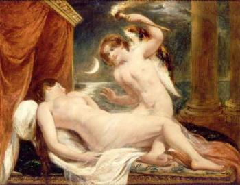 William Etty : Cupid and Psyche