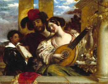 William Etty : Il Duetto