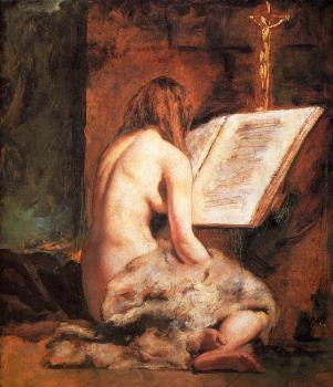 William Etty : The Penitent Magdalen