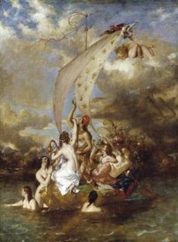 William Etty : Youth at the Prow Pleasure at the Helm