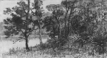 William Henry Hunt : Morris River Landscape