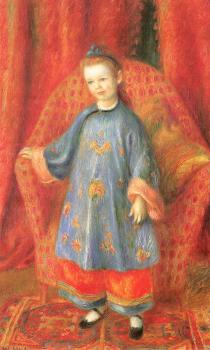 Lenna,the Artist Daughter,in a Chinese Costume
