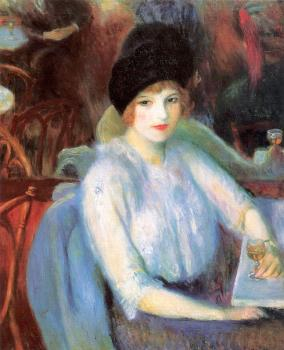 William James Glackens : Cafe Lafayette
