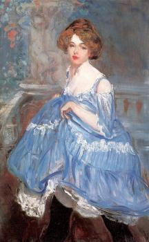 William James Glackens : Dancer in Blue