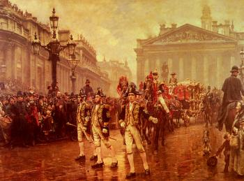 William Logsdail : Sir James Whiteheads Procession