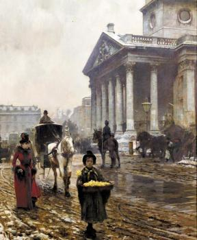William Logsdail : St Martins In The Fields