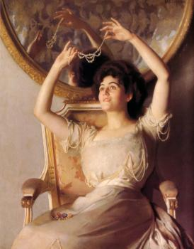 William McGregor Paxton : The String of Pearls