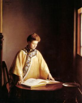 William McGregor Paxton : The Yellow Jacket
