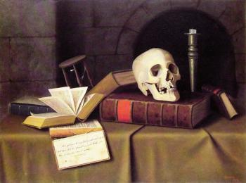William Michael Harnett : Memento Mori