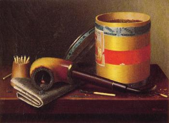 William Michael Harnett : Still Life