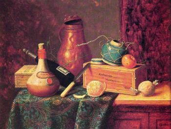 William Michael Harnett : Still Life II