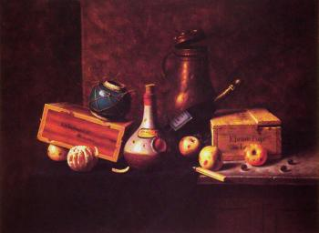 William Michael Harnett : Still Life III