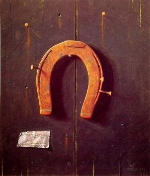 William Michael Harnett : The Golden Horshoe