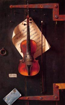 William Michael Harnett : The Old Violin