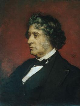 William Morris Hunt : Charles Sumner