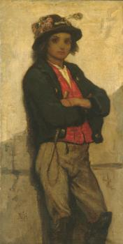 William Morris Hunt : Italian Boy