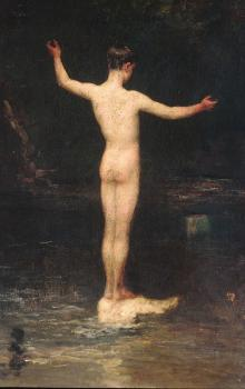 William Morris Hunt : The bathers