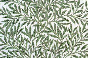 William Morris : leaves