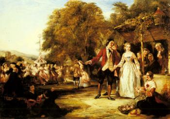 William Powell Frith : A May Day Celebration