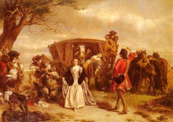 William Powell Frith : Claude Duval